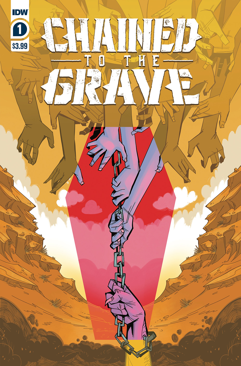 Chained to the Grave #1 Cover