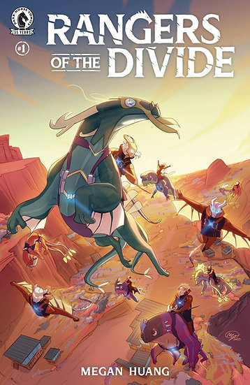 RANGERS OF THE DIVIDE #1 (OF 4)
