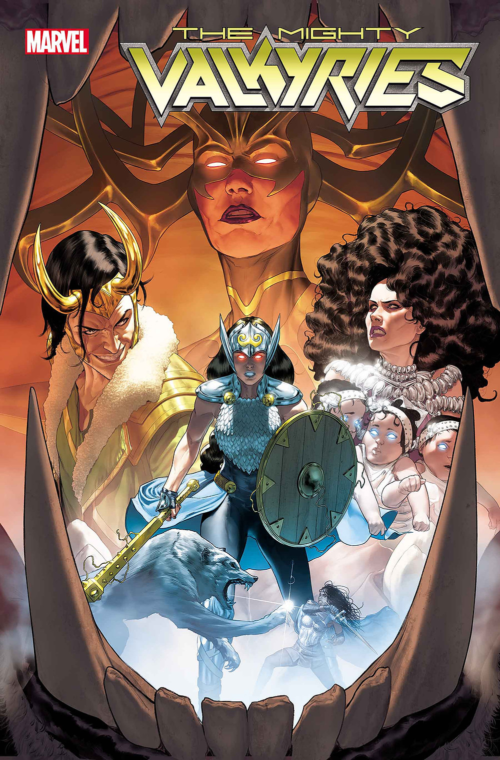 Mighty Valkyries #1 Cover