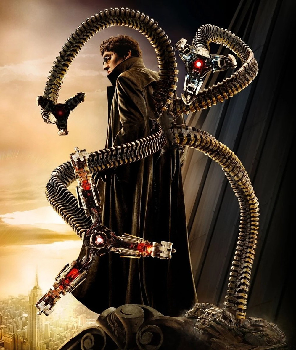 Alfred Molina as Doc Ock in Spider-Man 2