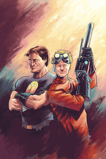 DR HORRIBLE BEST FRIENDS FOREVER #0 CVR A MOON