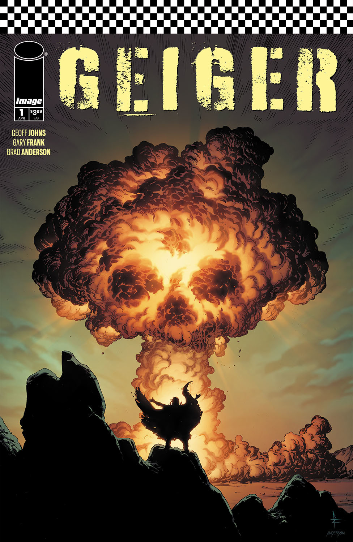Geiger #1 cover
