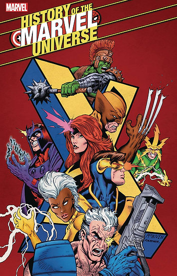 HISTORY OF MARVEL UNIVERSE #5 (OF 6)