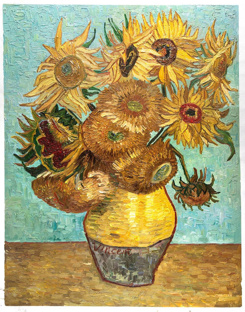 Van Gough's Sunflowers