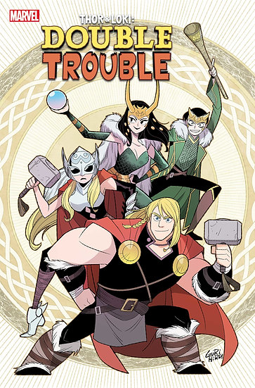 THOR AND LOKI DOUBLE TROUBLE #4 (OF 4)