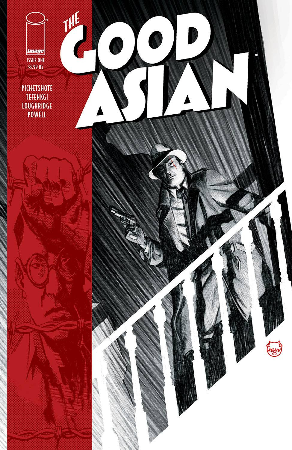 The Good Asian #1 Cover