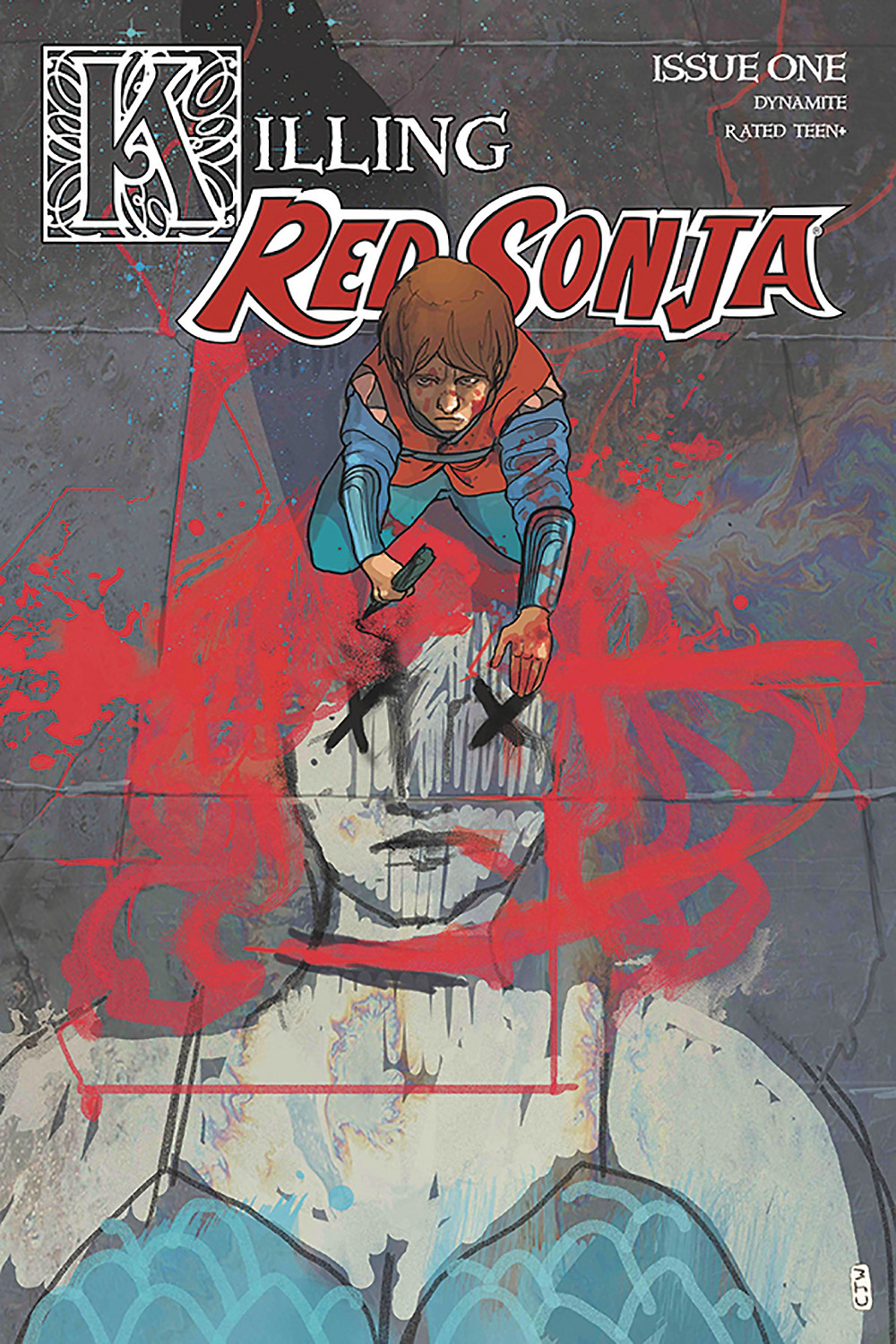Killing Red Sonja Issue 1 Cover