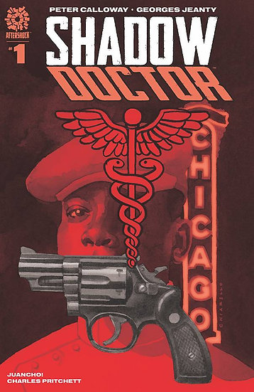 SHADOW DOCTOR #1 CHIARELLO VAR