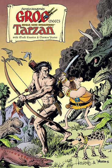 GROO MEETS TARZAN #4 (OF 4)