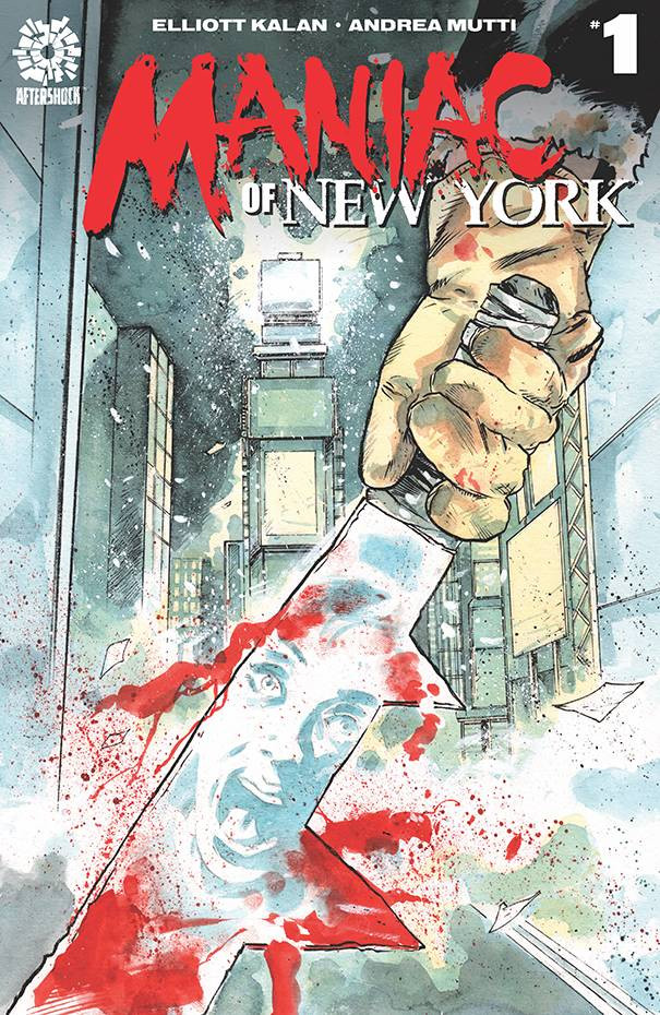 Maniac of New York #1 Cover