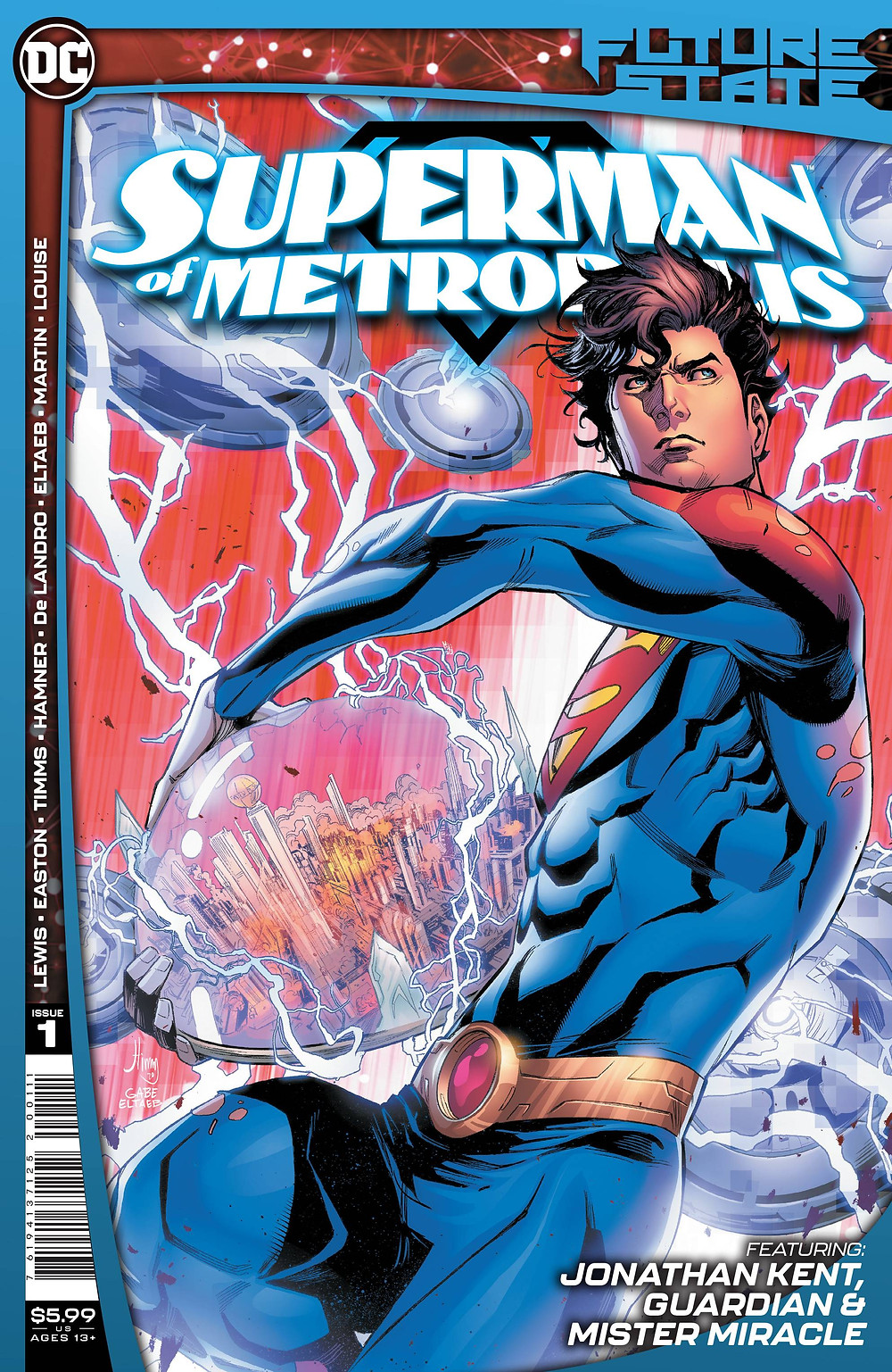 Future State: Superman of Metropolis #1