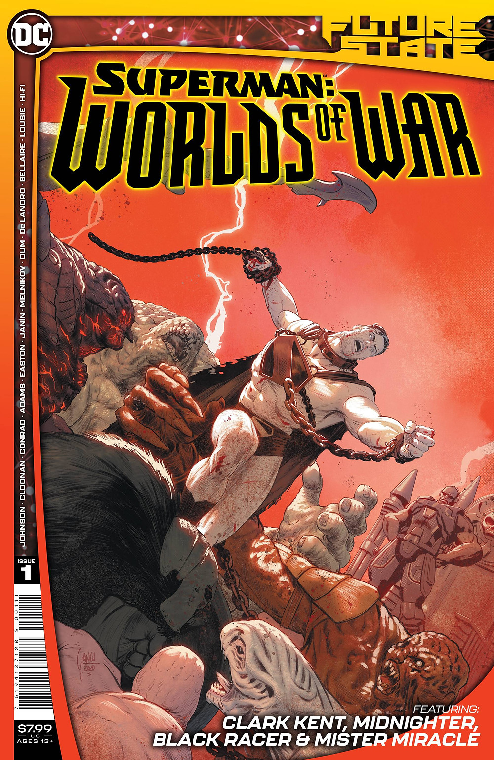 Future State: Superman - Words at War #1 Cover