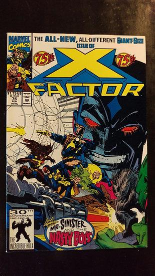 X FACTOR #75 (FEB 92)