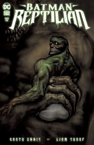 Batman: Reptilian #5 Cully Hamner Variant