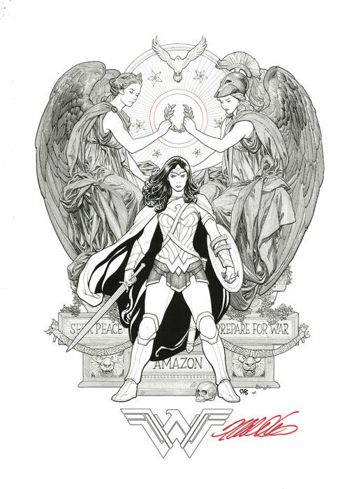 Frank Cho's Wonder Woman