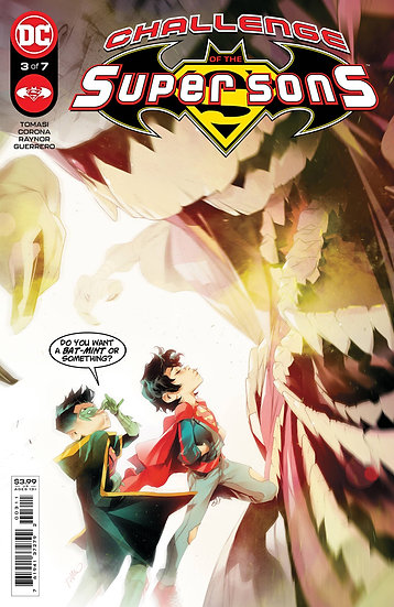 CHALLENGE OF THE SUPER SONS #3