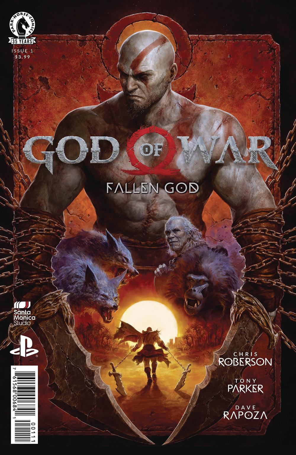 God of War: Fallen God #1 Cover