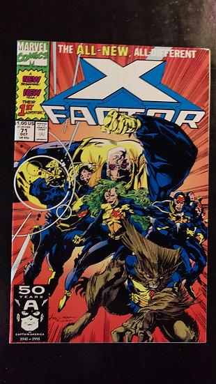 X FACTOR #71 (OCT 91)