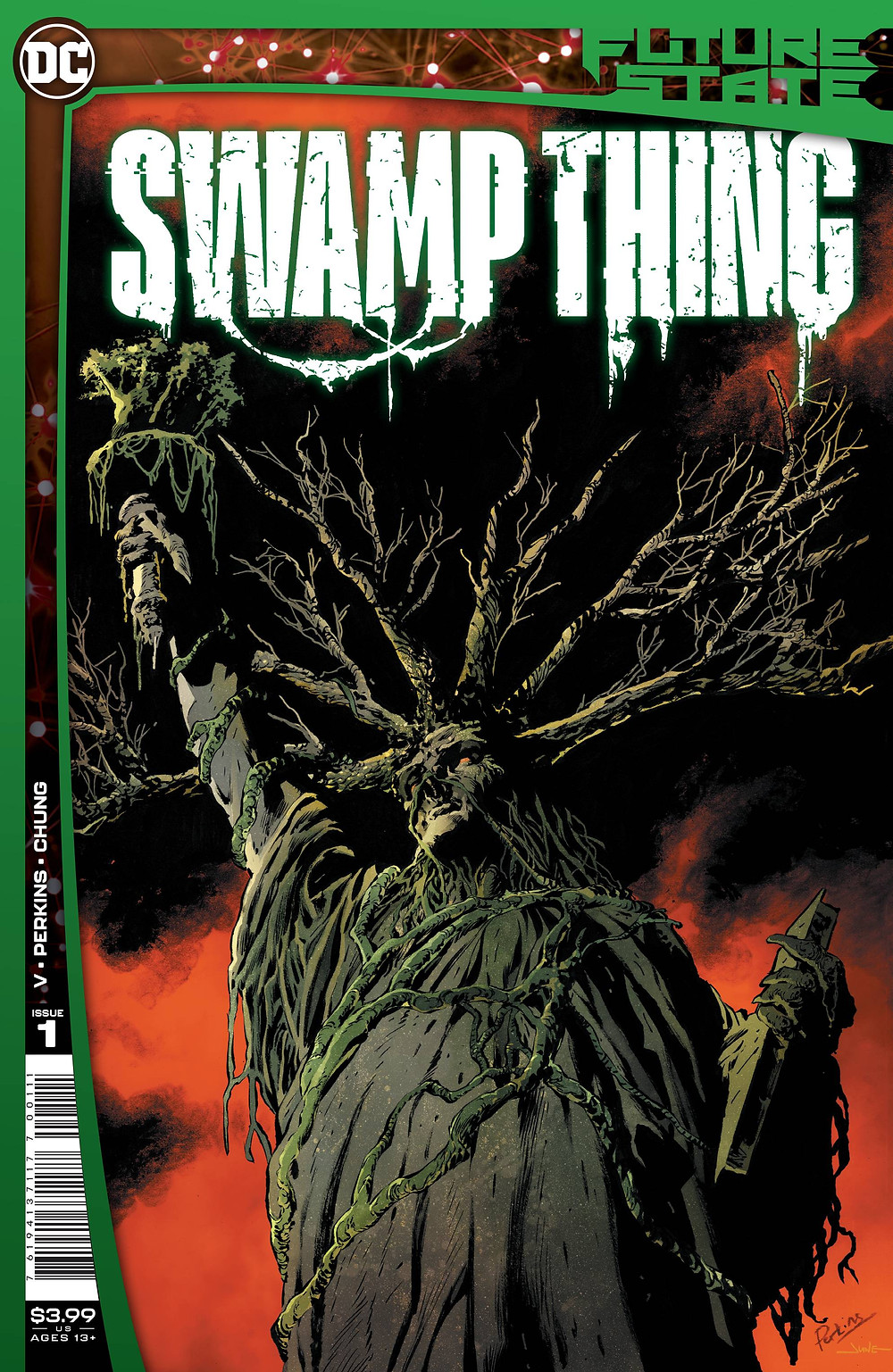 Future State: Swamp Thing #1 Cover (c) DC Comics