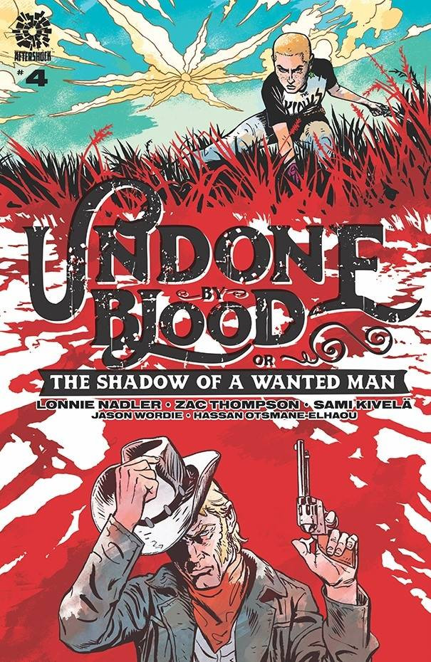 Cover to Undone by Blood #4
