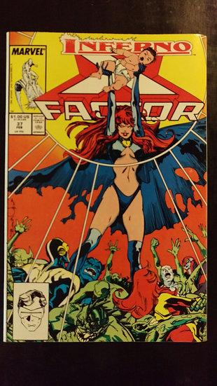 X FACTOR #37 (FEB 89)