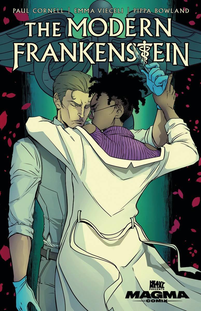 Modern Frankenstein #1 Cover