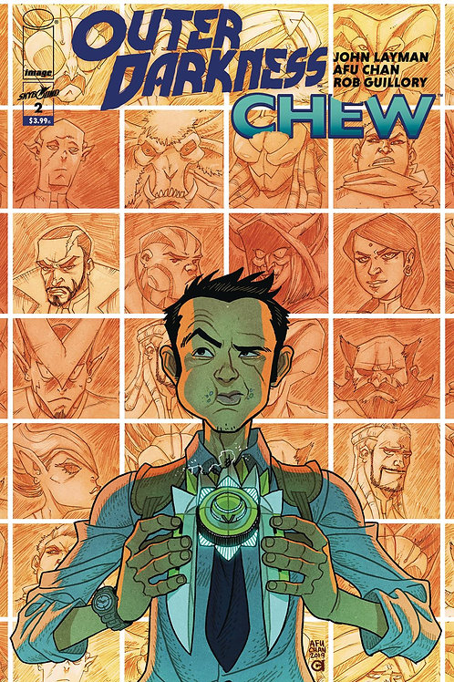OUTER DARKNESS CHEW #2 (OF 3) CVR A CHAN (MR)
