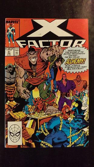 X FACTOR #41 (JUN 89)
