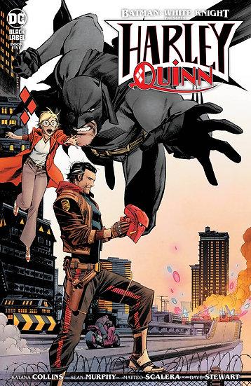 BATMAN WHITE KNIGHT PRESENTS HARLEY QUINN #5 (OF 8) (MR)