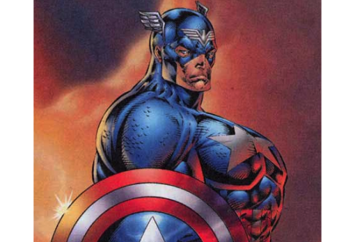 Captain America by Rob Liefeld