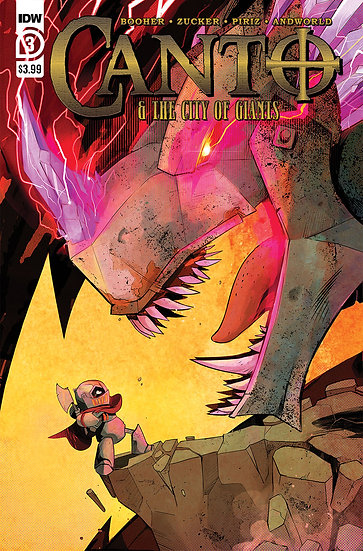 CANTO & CITY OF GIANTS #3 (OF 3)