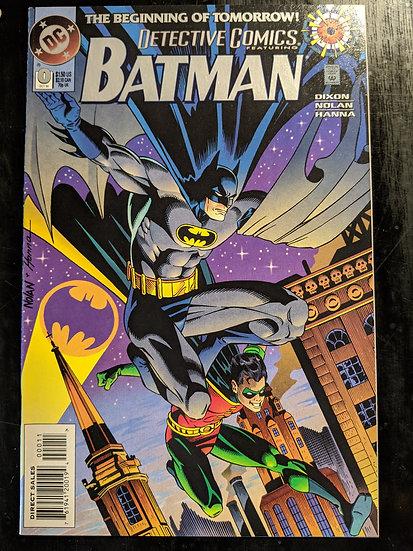 DETECTIVE COMICS #0 (1994)