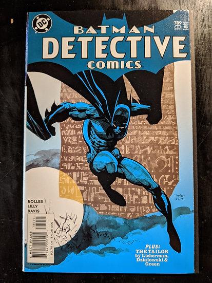 DETECTIVE COMICS #789