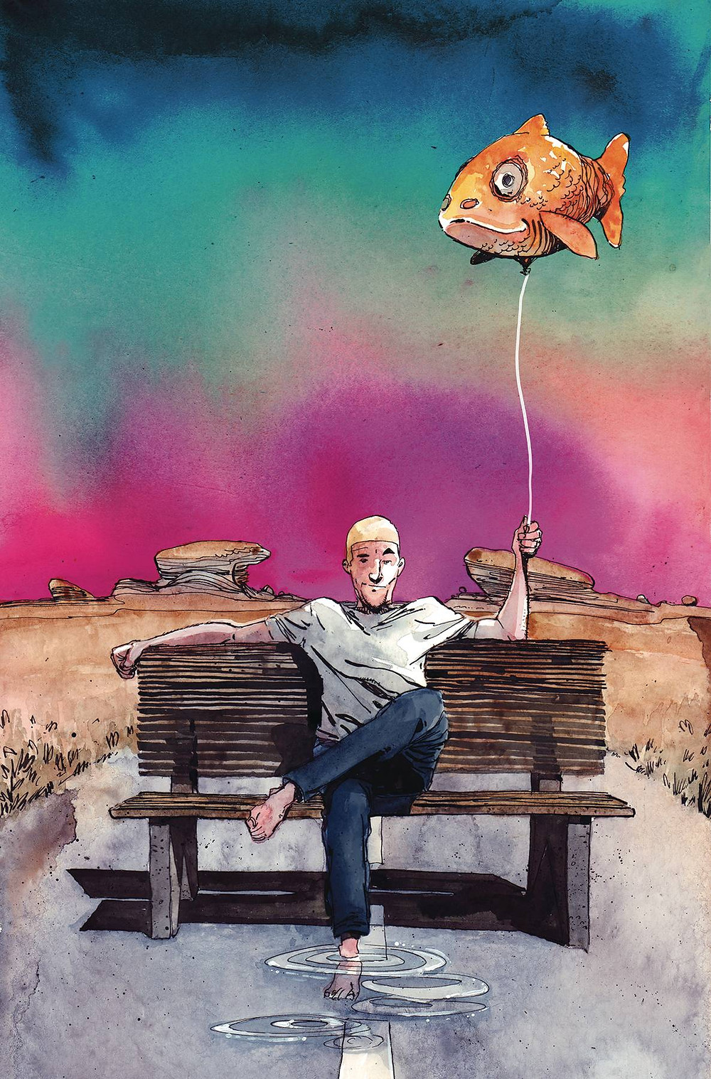 Cover of King of Nowhere #1