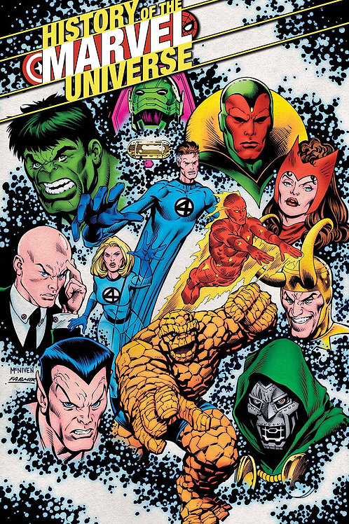 HISTORY OF MARVEL UNIVERSE #3 (OF 6)