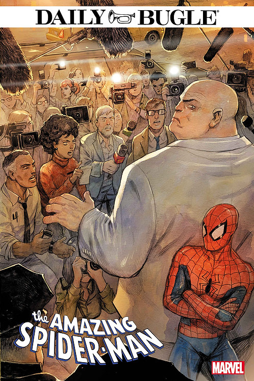 AMAZING SPIDER-MAN DAILY BUGLE #5 (OF 5)