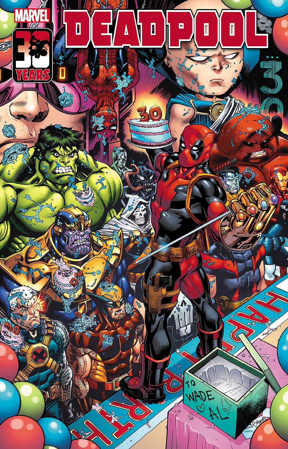 Deadpool: Nerdy 30 #1 Cover