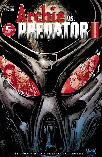ARCHIE VS PREDATOR 2 #5 (OF 5) CVR A HACK