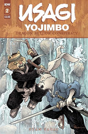 USAGI YOJIMBO DRAGON BELLOW CONSPIRACY #2 (OF 6)
