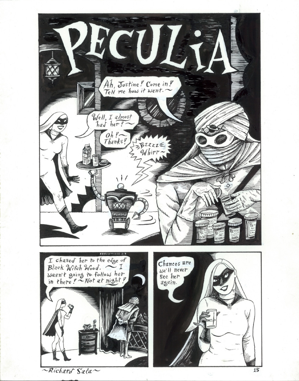 Peculia page 15 by Richard Sala