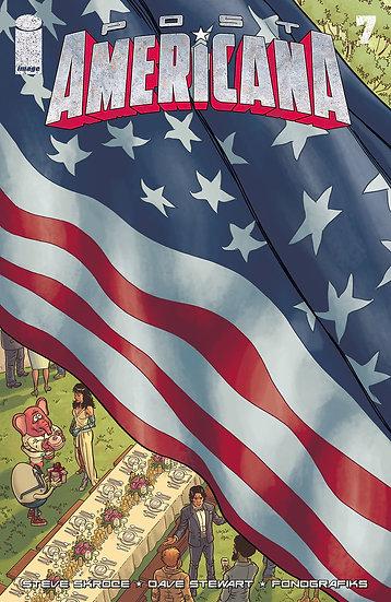 POST AMERICANA #7 (OF 7) (MR)