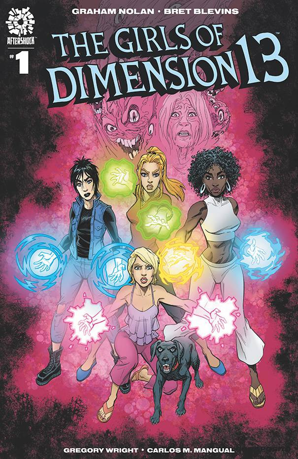 Girls of Dimension 13 #1 Cover