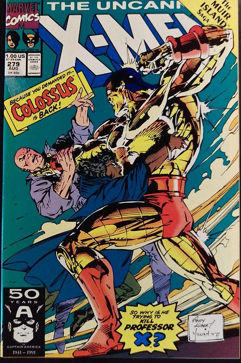 UNCANNY X-MEN #279 (AUG 91)