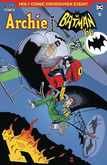 ARCHIE MEETS BATMAN 66 #6 CVR A ALLRED