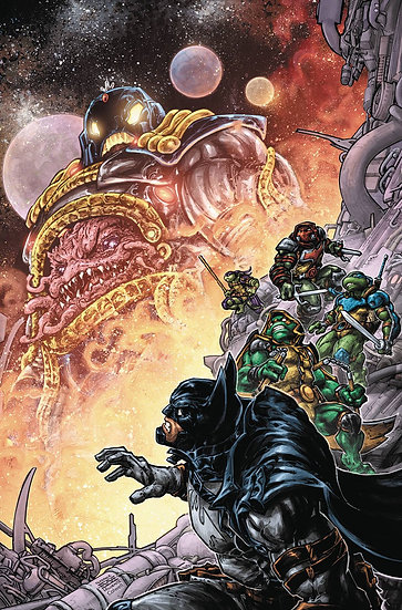 BATMAN TEENAGE MUTANT NINJA TURTLES III #3 (OF 6)