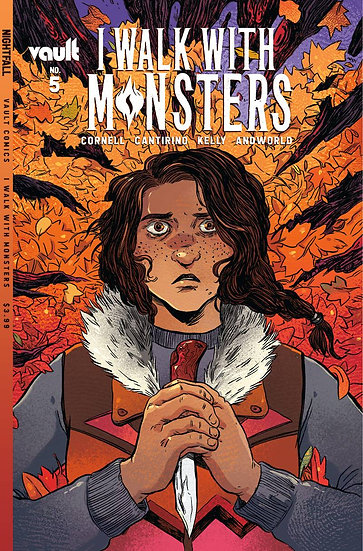 I WALK WITH MONSTERS #5 CVR A CANTIRINO (MR)