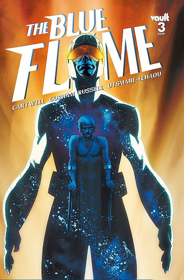 BLUE FLAME #3 CVR A GORHAM