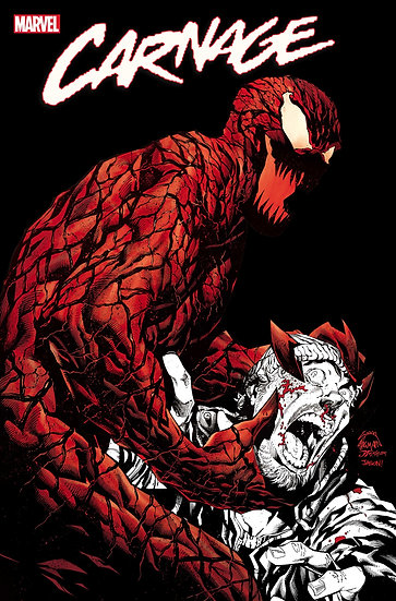 CARNAGE BLACK WHITE AND BLOOD #4 (OF 4)
