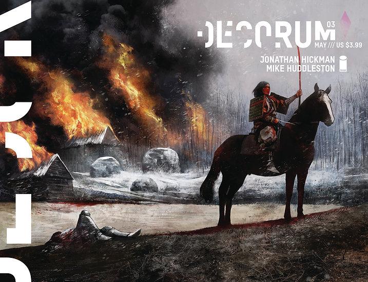 DECORUM #3 (OF 8) CVR A HUDDLESTON (MR)