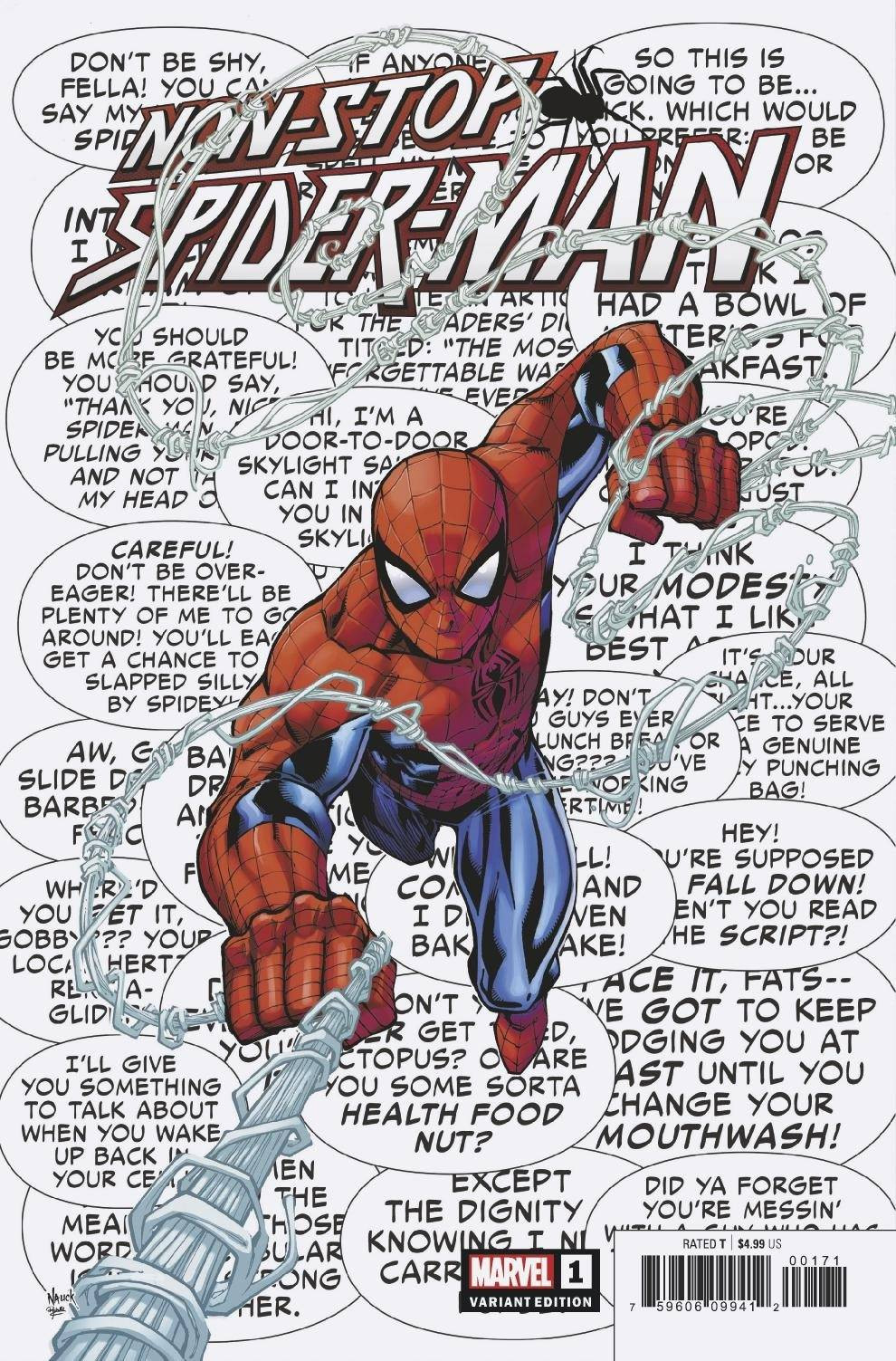 Non-Stop Spider-Man #1 Cover